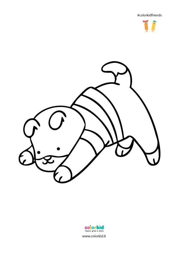 posizione cane yoga