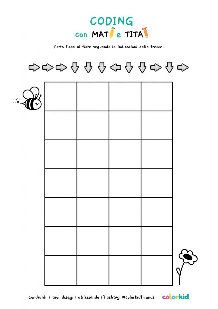 coding ape bambini 5 anni