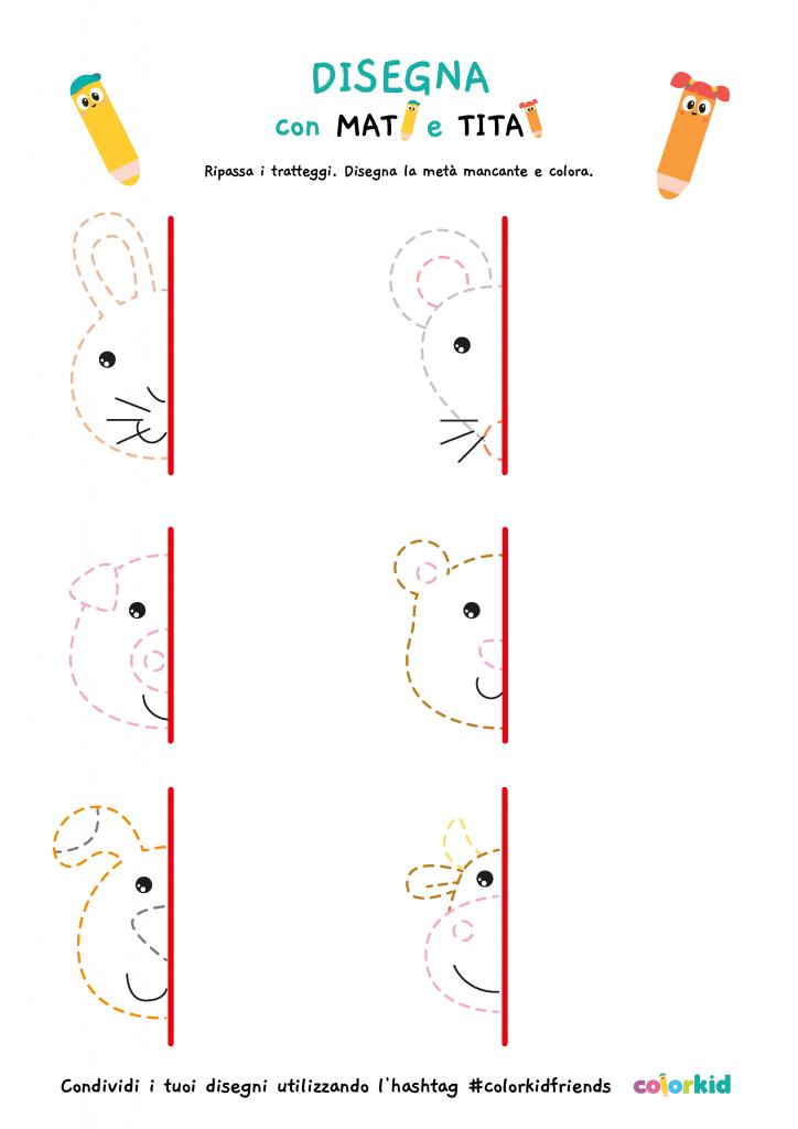 pregrafismo simmetrie animali