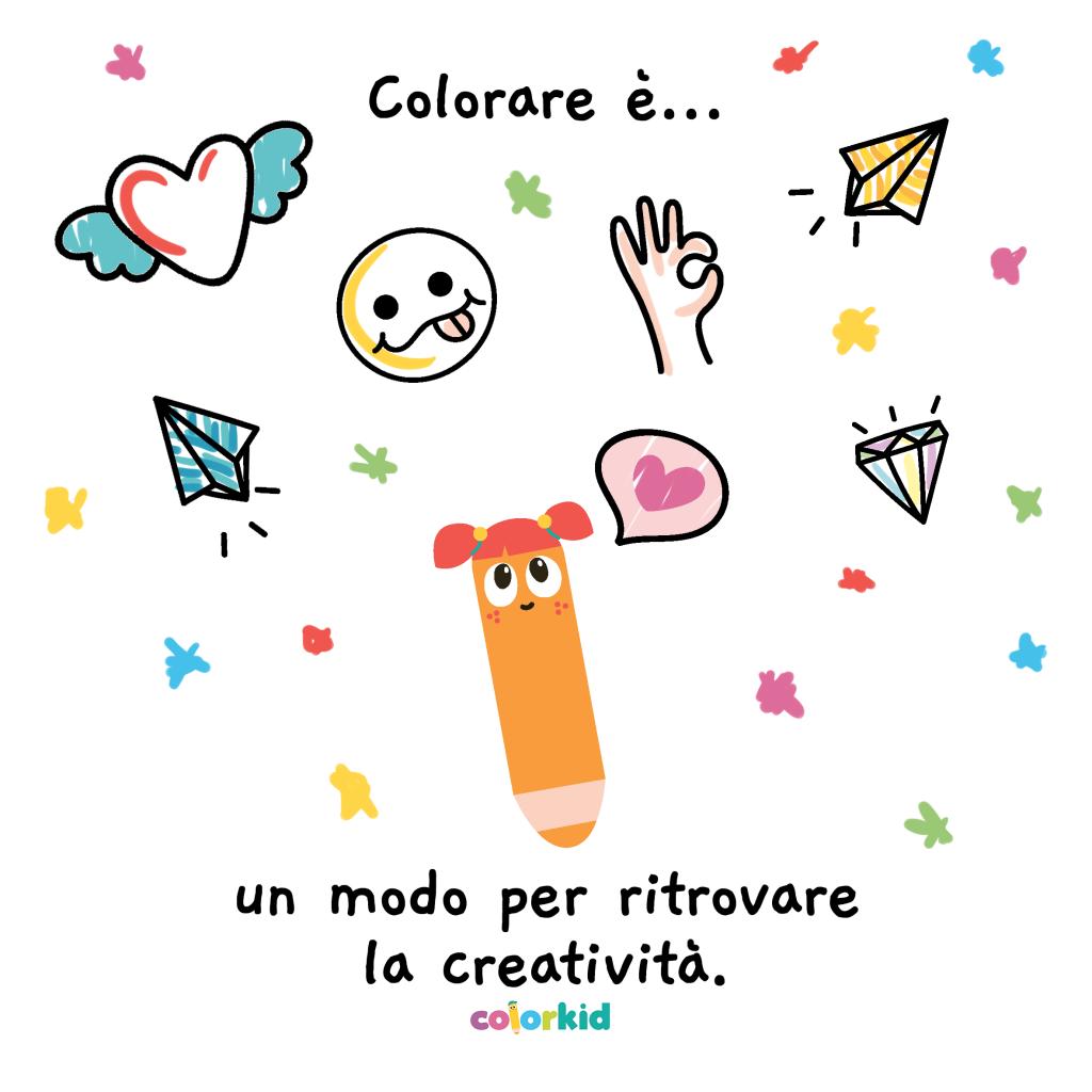 ritrovare la creatività