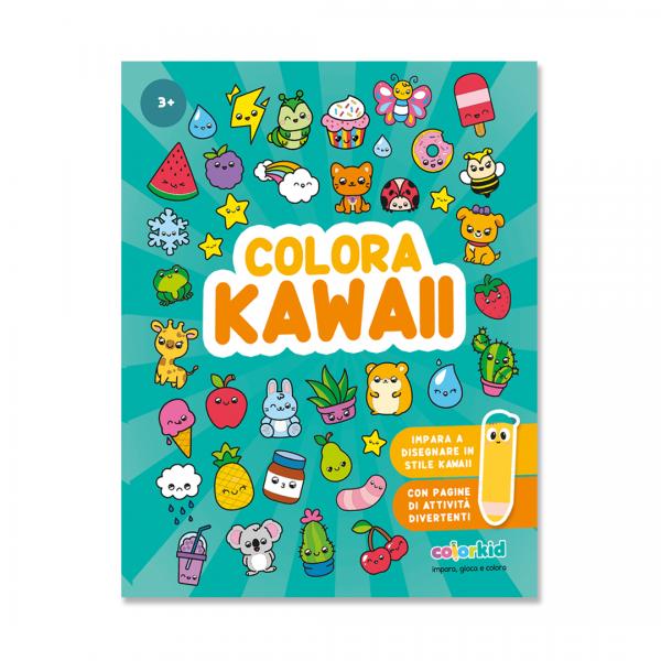 disegni kawaii da colorare